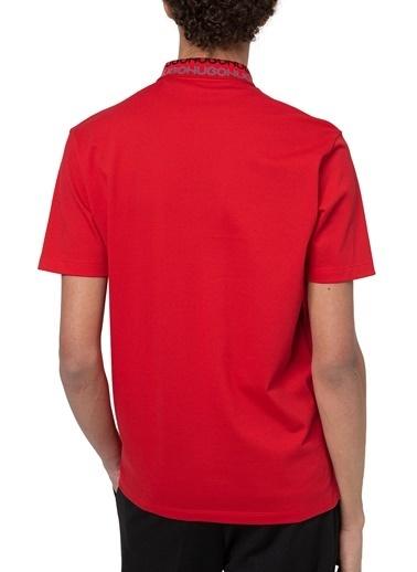 Hugo Boss  % 100 Pamuklu Polo T Shirt Erkek Polo 50448861 693 Kırmızı